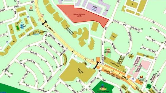Thomson Three Map