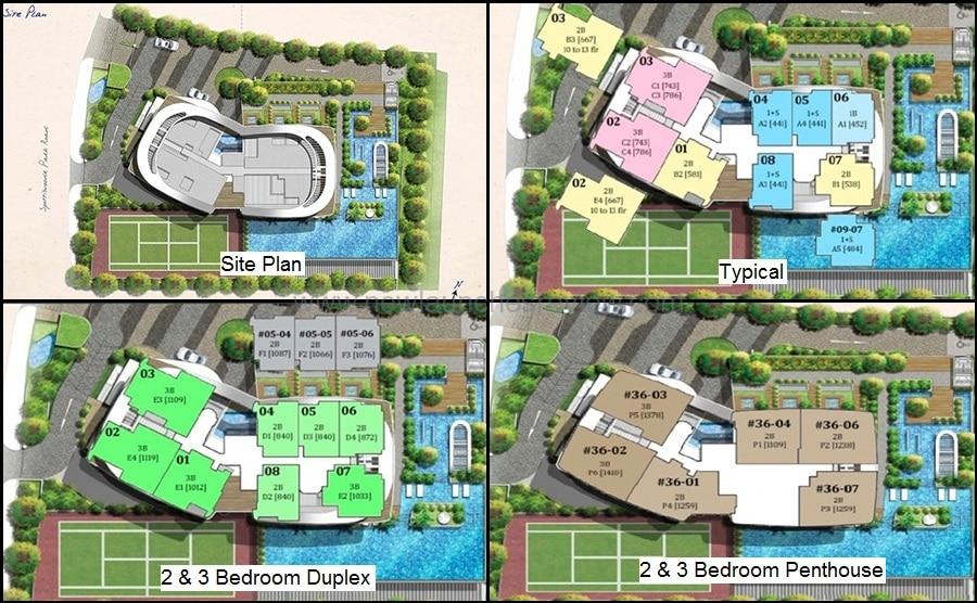 Spottiswoode Suites Site Plan