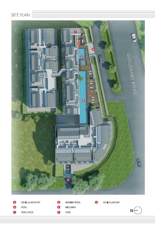 Gulliemard Suites Site Plan