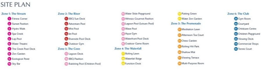 Kingsford Waterbay Site Plan 1