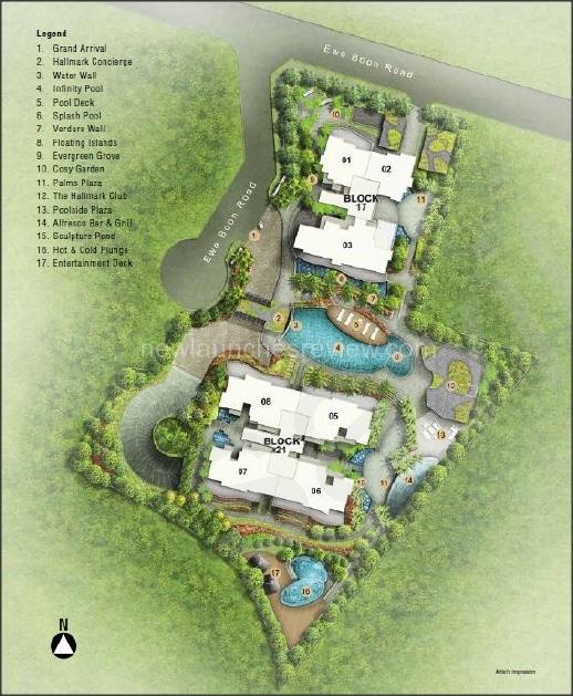 Hallmark Residence Siteplan