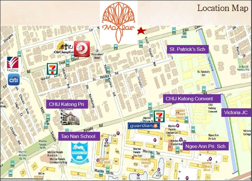 Mayfair Residences Location Map