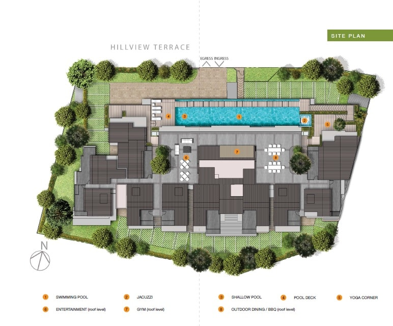 Hills-twoone Site Plan