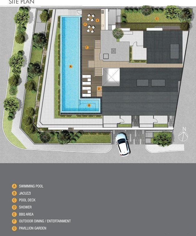Cassis Edge Site Plan