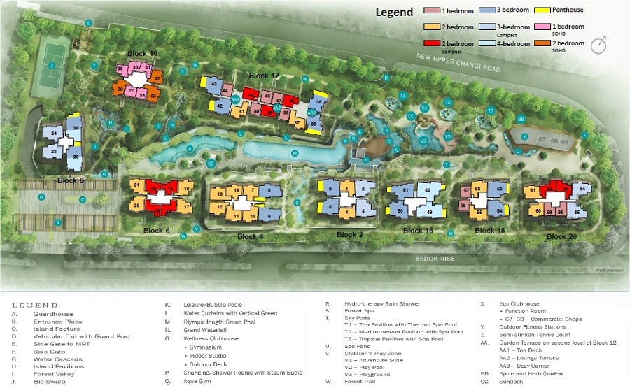 The Glades Site Plan