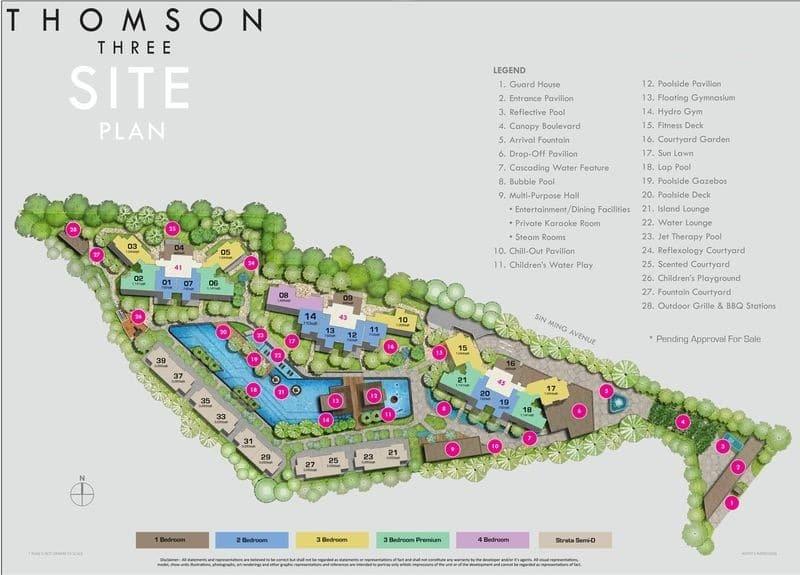 Thomson Three Site Plan