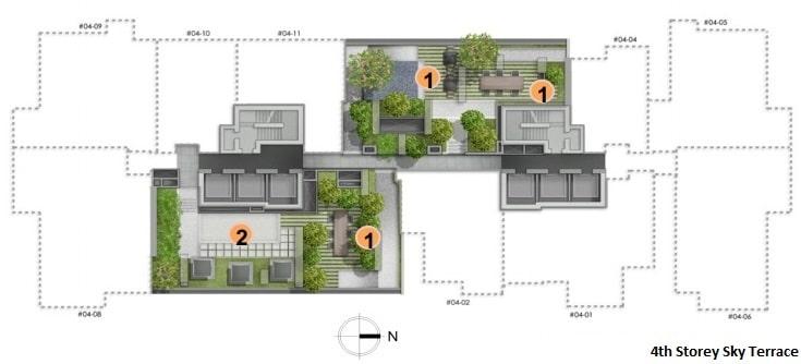 Alex Residences Site Plan 1