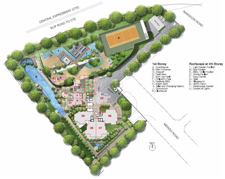 Cityscape Site Plan
