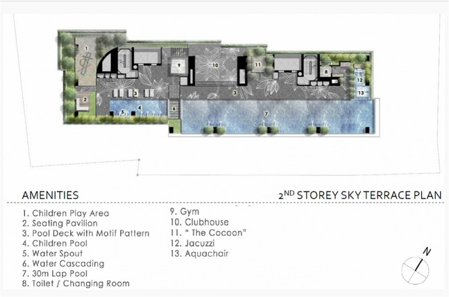 The Cape Site Plan
