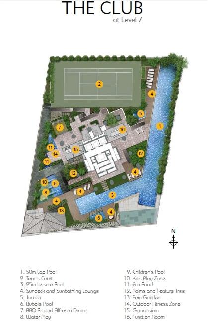 skysuites_anson site plan
