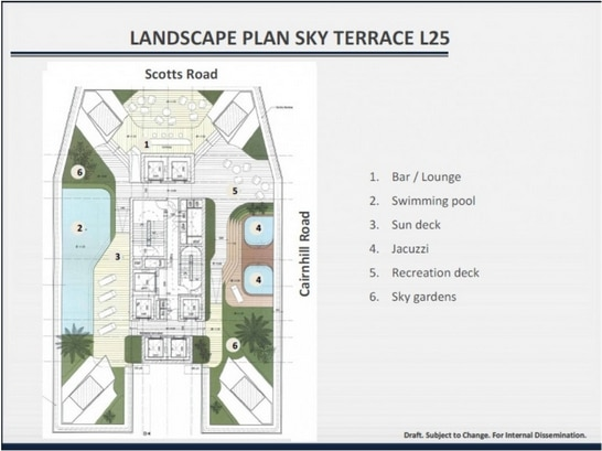 the scotts tower siteplan 3