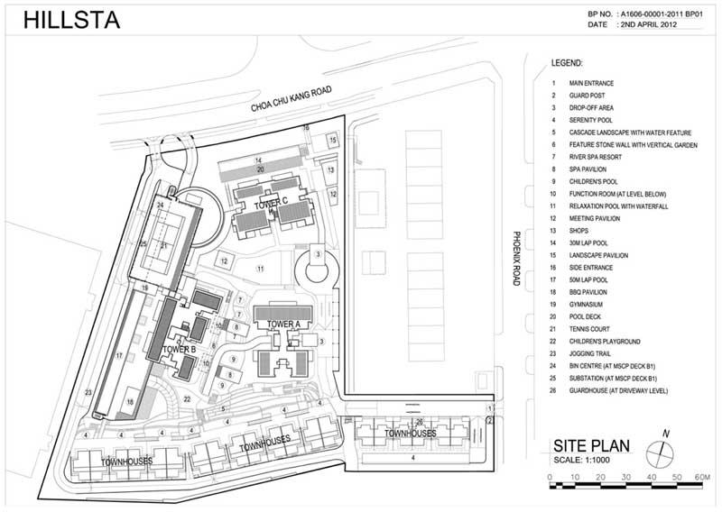 Hillsta Site Plan