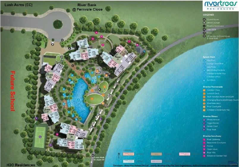 RiverTrees Site Plan