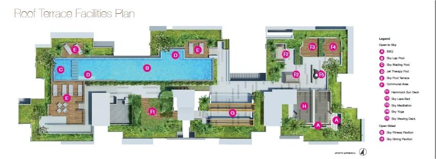 Sunnyvale Residences Siteplan