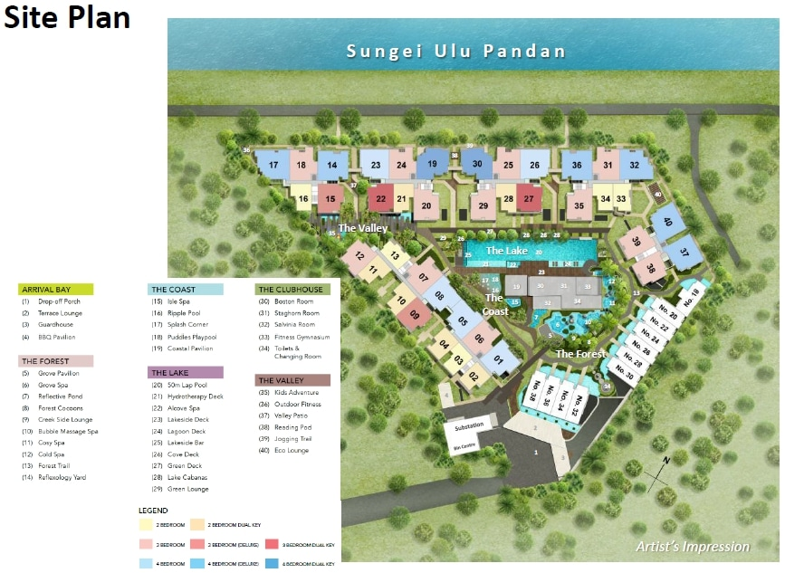 Waterfront-Faber-Siteplan