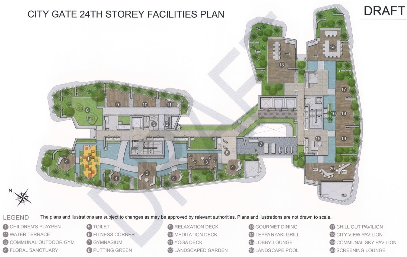 City Gate Site Plan 2